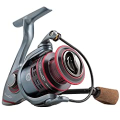 """""The President XT spinning reels take the President to the next level of performance. They are lighter and faster with a high-speed gear ratio. Featuring an aluminum main shaft, aluminum pinion gear, sealed drag, carbon fiber handle and a ru..."