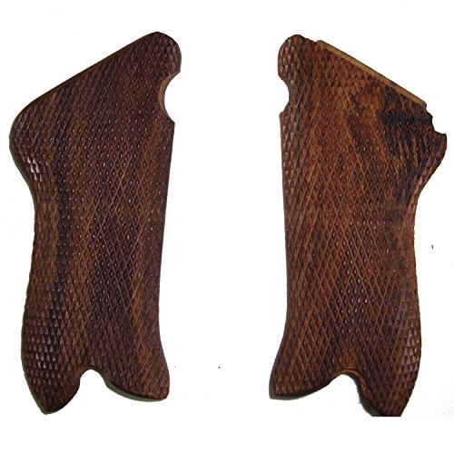WW2 German Luger P08 Pistol Wooden Grips