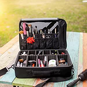 Amazon.com: NUEVO mejor funda para maquillaje profesional en ...