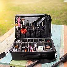 New BEST Professional Makeup Case Travel Makeup Bag Makeup Artist Cosmetic Train Case Cosmetic Organizer Big Makeup Bag Perfect Gift - Makeup Organizer & Makeup Brush Holder Bag/ Designer Makeup Case