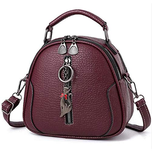 640a176b87 JD Million shop PU Leather Women Bag Ladies Cross Body Messenger Shoulder  Bags Vintage Handbags kitten ornaments 7789