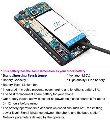 Disassembly Screwdriver Toolset for Samsung Galaxy Note 5 SM-N920T N9200 Cellphone Long Lasting 6700mAh Rechargeable Internal Li-ion Battery EB-BN920ABE