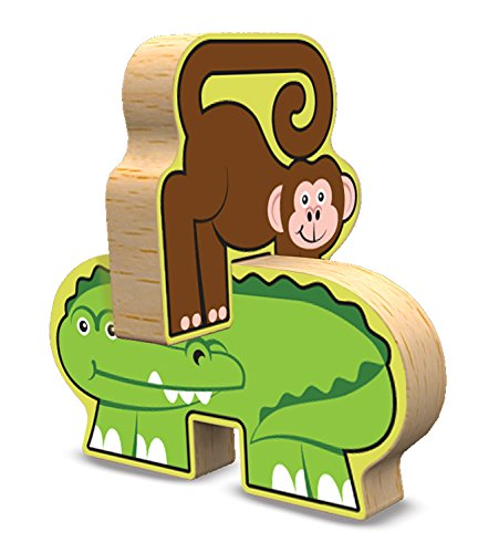 Melissa Doug Safari Animals Wooden Chunky Puzzle And Import It All