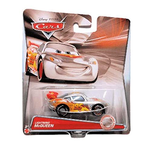 Disney/Pixar Cars - 2015 Silver Racing Series - Lightning McQueen