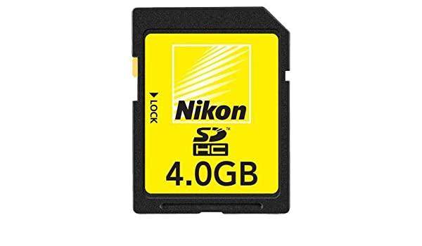 Nikon Secure Digital - Tarjeta de memoria de 4 GB: Amazon.es ...