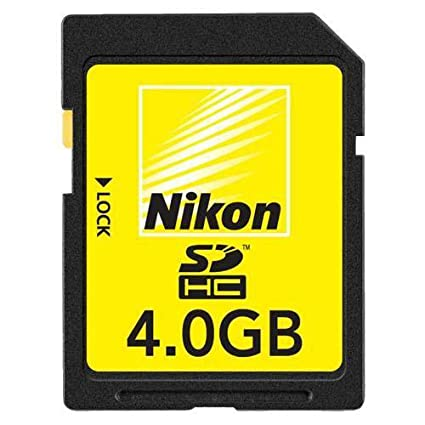 Nikon Secure Digital - Tarjeta de memoria de 4 GB: Amazon.es ...
