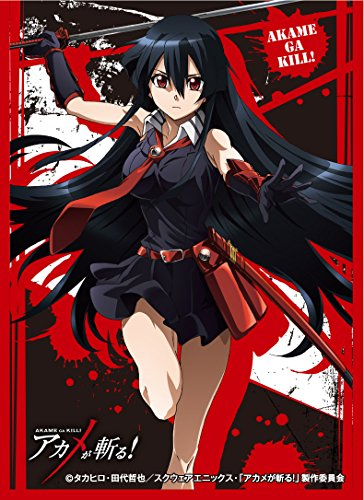 Akame ga Kill! Akame Card Game Character Sleeves Collection EN-082 82 Anime Girl Swordswoman Demon Sword Murasame Kiru by ensky