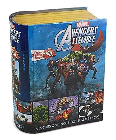 Avengers Assemble Storybook Puzzle (160 Piece), 36