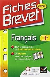 Fiches Brevet Français 3e: Fiches de cours - Troisième