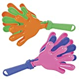 Rhode Island Novelty 7.5 Inch Hand Clappers, One