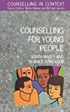 img - for Counselling For Young People (Counselling in Context) by Judith Mabey (1995-05-01) book / textbook / text book