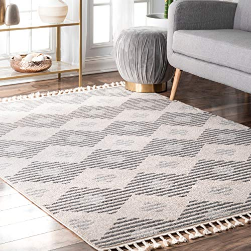 nuLOOM ACNZ02A Striped Lynx Indoor/Outdoor Runner Rug, 2' 6