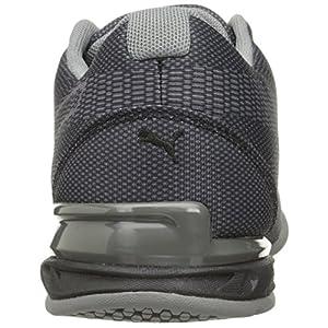 PUMA Men's Tazon 6 WOV Wide Cross-Trainer Shoe, Quiet Shade Black, 7 W US