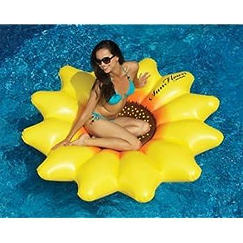 swimline sunflower float toys games. Black Bedroom Furniture Sets. Home Design Ideas