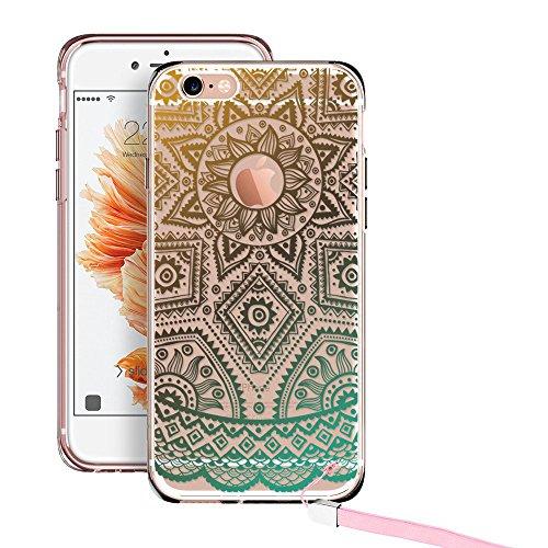 iPhone ESR Mandala Pattern Plus Gold