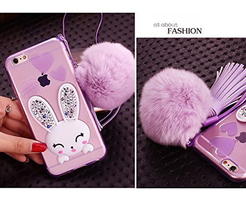 coque iphone 5 lapin pompon
