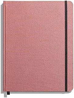product image for Shinola Journal, HardLinen, Ruled, Pink (7x9)