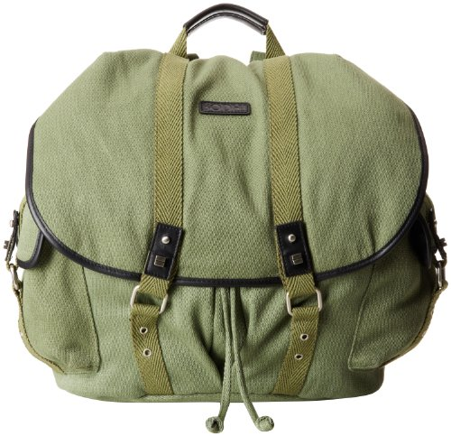 Bodhi Luggage Canvas Laptop Backpack, Vintage Army, One Size by BODHI