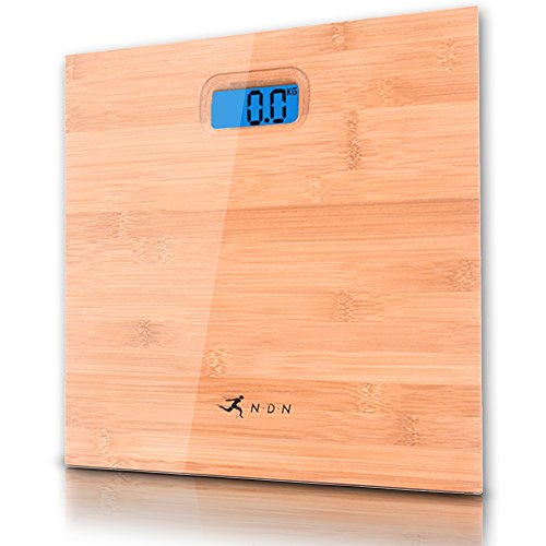 Digital Bathroom Scale Bamboo Difference