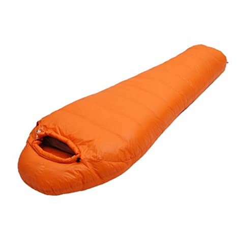 Mummies Ganso Suave Plumón de Plumas Bolsas de Dormir Adultos de Camping Al Aire Libre Costura