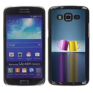 Impact Case Cover with Art Pattern Designs FOR Samsung Galaxy Grand 2 chashka posuda cvet para Betty shop