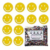 Confetti Smiley Face Yellow - One Pound Bag (16 oz) Free Priority Mail --- (CCP9252)