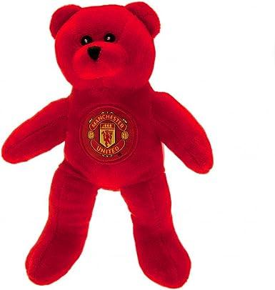 Amazon Com Mini Manchester United Solid Teddy Bear Toys Games
