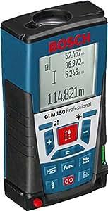 Bosch GLM 150 - Herramienta para medir (Negro, Azul)