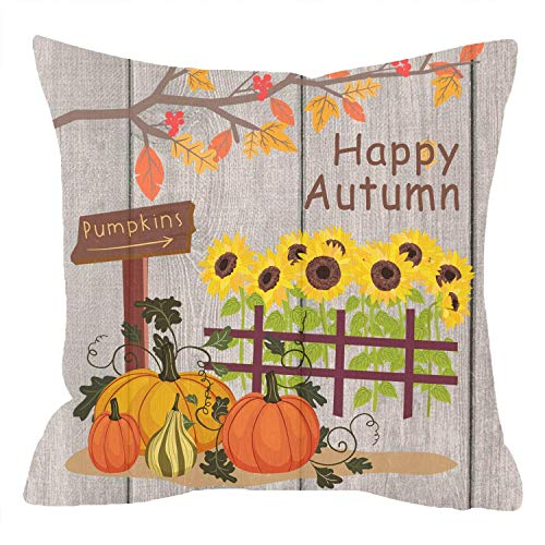 Jiayou J Nice Gift Golden Happy Autumn Greatest Blessing Fall Leaves...