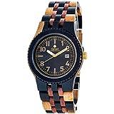 Tense Men's Yukon Watch in Dark Dual Tone Sandalwood J5200IDM-BG