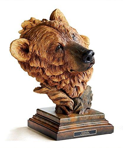 Timberline - Brown Bear Sculpture by Stephen Herrero