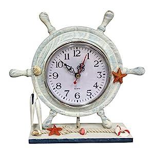 51Wv1cGJwxL._SS300_ Nautical Themed Clocks