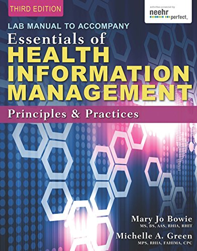 Download Lab Manual for Green/Bowie's Essentials of Health Information Management: Principles and Practices Pdf