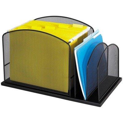 SAF3259BL - Safco Steel Mesh Desktop Hanging File