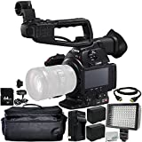 Canon EOS C100 Mark II Cinema EOS Camera (Body Only) 9PC Accessory Bundle – Includes 2x Replacement Batteries + AC/DC Rapid Home & Travel Charger + MORE - International Version (No Warranty)