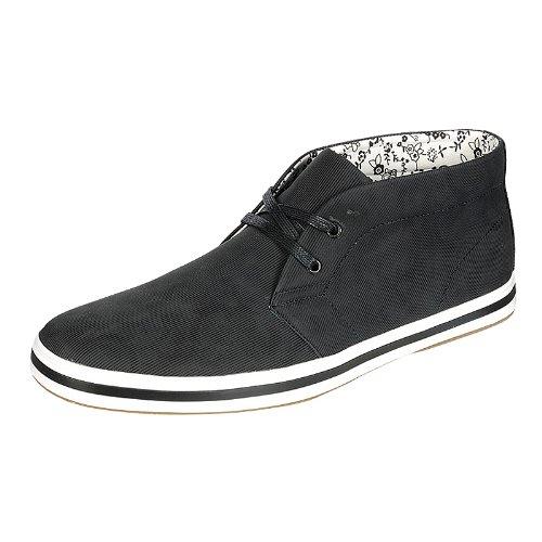 Arider AR3071 Men's High-Top Casual Shoes-BLACK-9.5