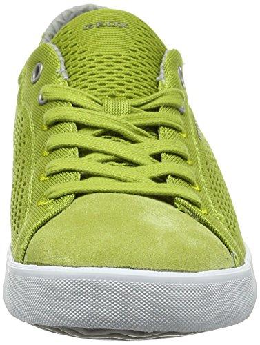 Geox U Smart B, Zapatillas para Hombre Verde (LIME GREENC3015)