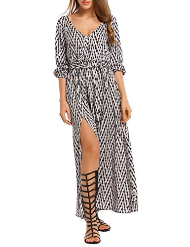 Zig Zag Printed Dress - 8