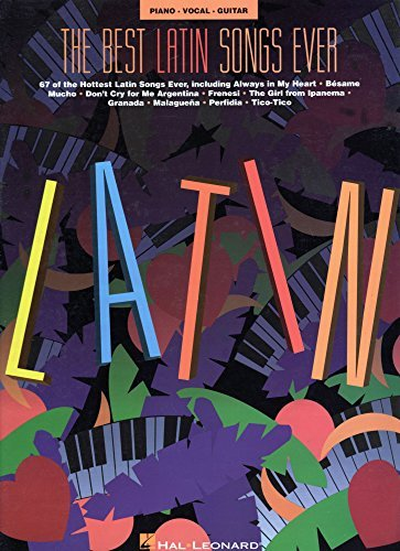 Amazon.com: Best Latin Songs Ever (0073999281958): Hal Leonard Corp ...