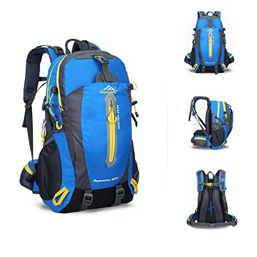 40L Waterproof Lightweight Camping Backpack
