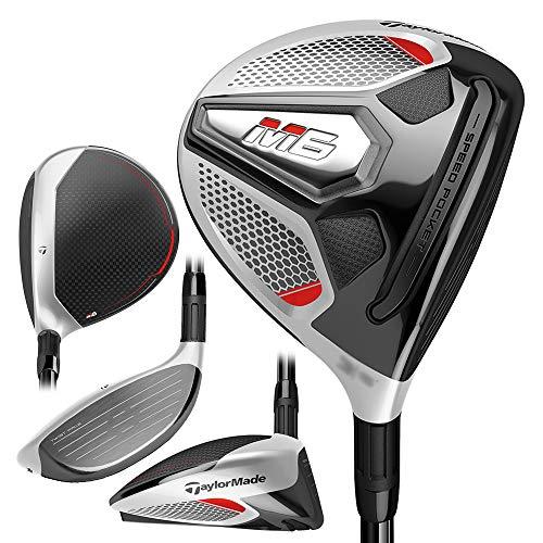 TaylorMade Golf M6 Fairway, 3 Wood, Right Hand, Regular Flex Shaft: Fujikura Atmos Orange 6