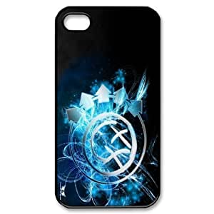 Custom High Quality WUCHAOGUI Phone case Blink 182 Pattern Protective Case For Iphone 4 4S case cover - Case-11 Kimberly Kurzendoerfer