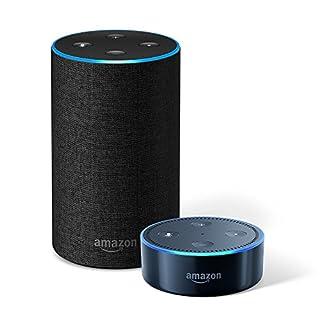 Echo (2nd Generation) – Charcoal Fabric + Echo Dot (B0794D1TS6) | Amazon Products