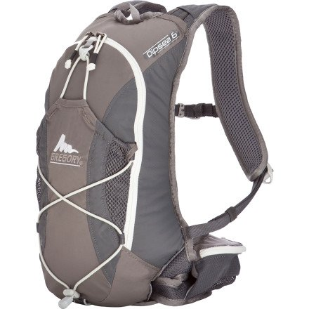 Gregory Women's Dipsea 6 (Helium Gray), Outdoor Stuffs