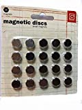 Basic Grey 0.375-inch Magnetic Discs, Silver by Basic Grey