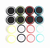 Silicone Thumb Grips Thumb Stick Caps Thumbstick Covers For PS4 / PS3 / Xbox One / Xbox 360 / Wii U Controllers 8 Pairs/16-Pack RELIAN