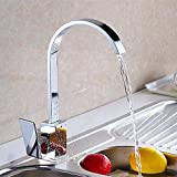 Luxury pull donw hot cold kitchen water faucet with single handle solid brass kitchen sink faucets