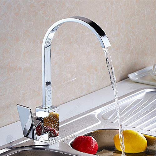 Luxury pull donw hot cold kitchen water faucet with single handle solid brass kitchen sink faucets by Tyrants Fauceting