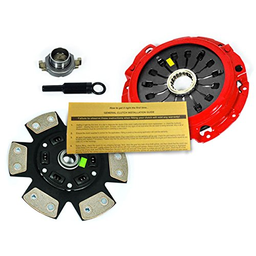 (EFT STAGE 3 RACE CLUTCH PRO-KIT for 1993-1999 MAZDA RX-7 TWIN TURBO 1.3L FD)