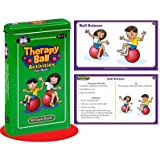 Therapy Ball Activities Fun Deck Cards - Super Duper Educational Learning Toy for Kids